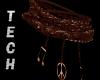 Wood Leather Bracelet