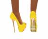 Polkadot Yellow Shoe
