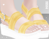 n| Sandals Yellow