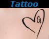 Tattoo Chest G Heart