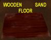 WOODEN FLOOR WITH SAND