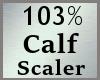 103% Calf Scaler MA