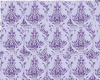 Purple Demask Wallpaper
