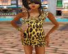 Leopard Shoulder Dress