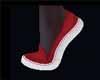 Aari Red Glow Sneakers