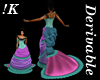 !K!Delure Victorian Gown