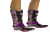 Country Girl Floral Boot