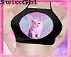 SG Pastel Goth Cat Top