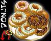 [m] Donut/Sprinkles Gold