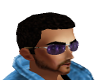 Sunglasses Cool Purple