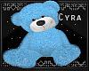 |Baby Blu Teddy Bear|