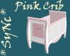 Pretty Pink Crib