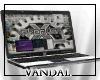 V- Vandals laptop