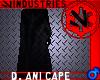 Empire Dark Ani Cape