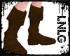 L:Boots-Pirate Brown M+F