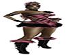 SCP-Pink Black Plaid