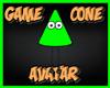 Game Cone Avatar Green