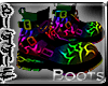 (Rainbow Boots(M)