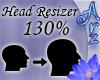 [Arz]130% Head Resizer