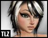[TLZ]BlkWht Shayna Hair