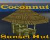 Coconnut Sutset Hut