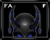 (FA)ChainHornsF Blue