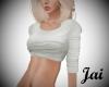 Jai White crop sweater