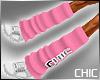 {CHIC} Leg Warmers Pink