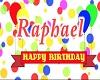 Raphs Birthday Room 2019