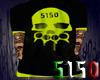 5150 Yellow Skull Shirt