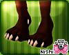 Nishi Tapir Paws Feet M