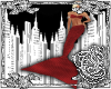 {E}Red Mermaid Fins