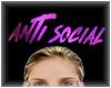 Anti Social Sign