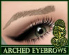 Arched Eyebrows Gray