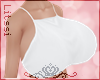 -L-Extra Bimbo White Top