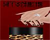 ~GT~ Black Cheetah nails