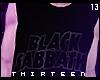 ✘  Black Sabbath