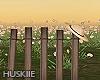 HK`Wooden fence