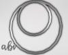 {abi} Silver Earrings