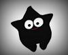 Funny Black Star Pet