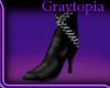 [KG]Laced Boots(M) Black