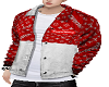 Y JACKET SUP RED WHITE