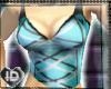 [ID] Blue Tight Tank