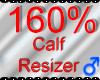 *M* Calf Resizer 160%