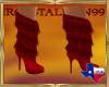 IS Red Fringe Boots