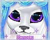 *! Furry Eyes Purple