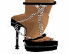 Fancy Chain High Heels