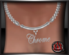 [JAX] CHROME NECKLACE