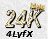 Custom *24K chain