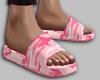 pink camo slides
